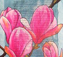 Magnolias XX by Alexandra Felgate