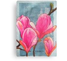 Magnolias XX Canvas Print