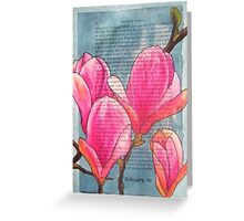 Magnolias XX Greeting Card