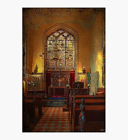 Warwick Castle Chapel Photographic Print