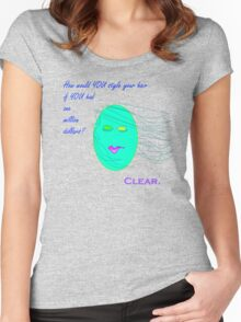 Clear Hair Women's Fitted Scoop T-Shirt