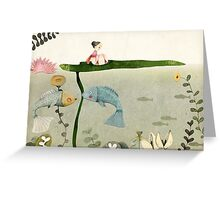 Thumbelina III Greeting Card
