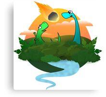 The Dinopocalypse Canvas Print