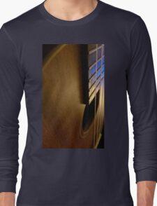 Wooden Ukulele Long Sleeve T-Shirt