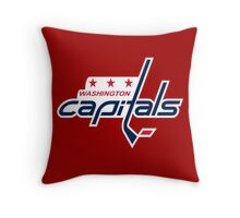 Capitals Throw Pillow