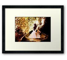 Bride on the Stour II - Wonderland Framed Print