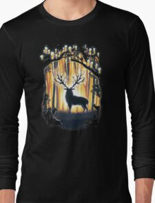 Deer God Master of the Forest Long Sleeve T-Shirt