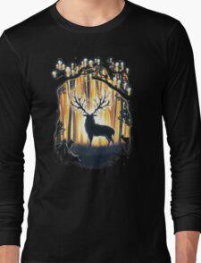 Deer God Master of the Forest Long Sleeve T-Shirt