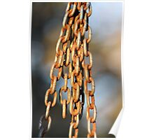 Hanging Chains- Wonder Lake, IL Poster