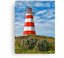 Brier Island (West) Lighthouse Canvas Print
