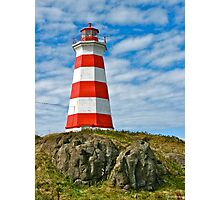 Brier Island (West) Lighthouse Photographic Print