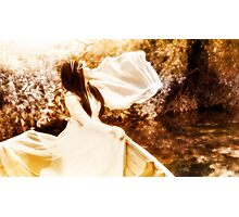 Bride on the Stour III - Wave Photographic Print
