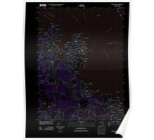 Massachusetts  USGS Historical Topo Map MA Edgartown 20120606 TM Inverted Poster
