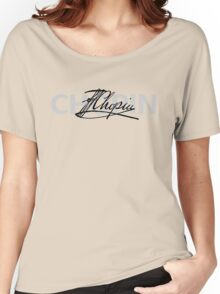 CHOPIN signature Women's Relaxed Fit T-Shirt