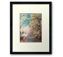 The Walkway of Forgotten Dreams Framed Print