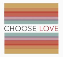 Choose Love - Gradient One Piece - Short Sleeve