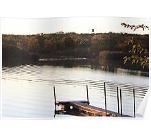 Ripples on the Lake- Wonder Lake, IL Poster