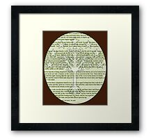Lord of the Rings - Return of the King - White tree of Gondor Framed Print