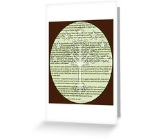 Lord of the Rings - Return of the King - White tree of Gondor Greeting Card