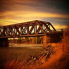 Train Bridge - Tunnel Island - Kenora by Samantha Zroback