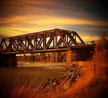 Train Bridge - Tunnel Island - Kenora by Samantha Zroback