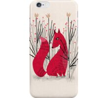 Fox in Scrub iPhone Case/Skin