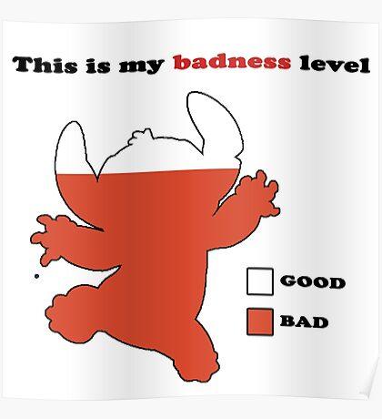 Stitch Badness Poster