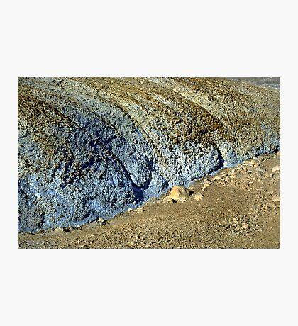 Mud Colors Photographic Print