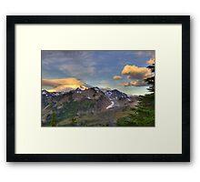 Mt. Baker Sunrise (HDR) Framed Print