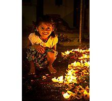 glowing  star Photographic Print