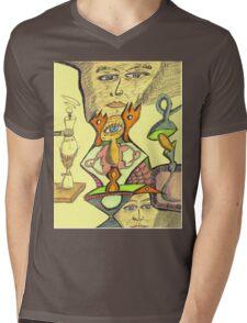 gene e + Mens V-Neck T-Shirt