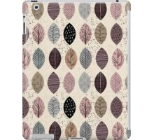 Nature Inspired Leaves  iPad Case/Skin