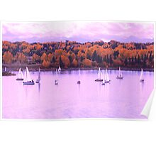 Sailing on the Glenmore Poster