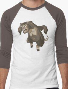 ManBearPig Men's Baseball ¾ T-Shirt