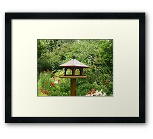 Lonely bird house Framed Print