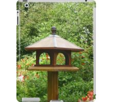 Lonely bird house iPad Case/Skin