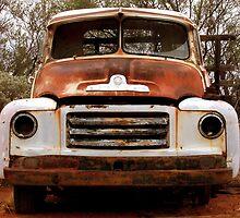 Old Bedford Car by Julia Harwood