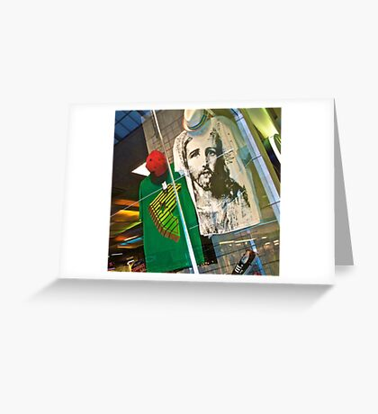 Jesus Shirt Greeting Card
