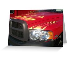 Now THATS What I Call a Firetruck!!! Greeting Card