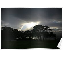 coastal sky 3. eastcoast - tasmania Poster