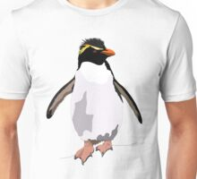 Bird - Illustration - Rockhoper Penguin Unisex T-Shirt