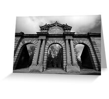 All that remains Greeting Card