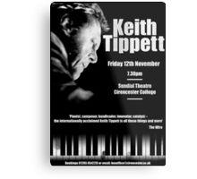 Keith Tippett Metal Print