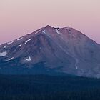 Dawn at Mt Lassen by rakosnicek