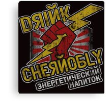Chernobly Energy Drink Canvas Print