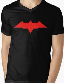 Red Hood - Arkham Knight Mens V-Neck T-Shirt