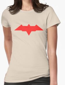 Red Hood - Arkham Knight Womens Fitted T-Shirt