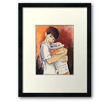 Mikey Loves His Drugs Framed Print