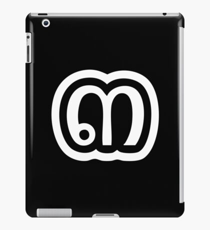 Thailand Number 3 / Three / ๓ (Sam) Thai Language Script iPad Case/Skin
