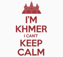 I'm Khmer I Can't Keep Calm Kids Tee